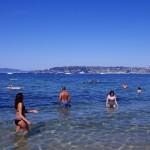 Antibes: 地元の人が集まるビーチ・キャップアンティーブ(Cap d'Antibes)