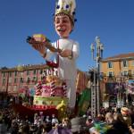 Nice: ニース・カーニバル(カーニバルパレード・Corso Carnivalesque)